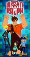 Wreck it Ralph by RoseMary1315