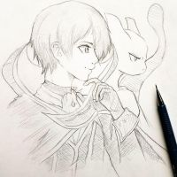 ~Lelouch + Mewtwo~ by PlatinumAmi