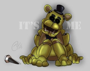 ~Golden Freddy~ by TheFredricus