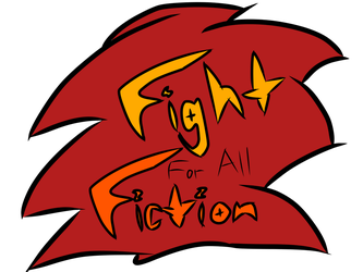 Fight for All Fiction logo by HeroOfTheEmblem