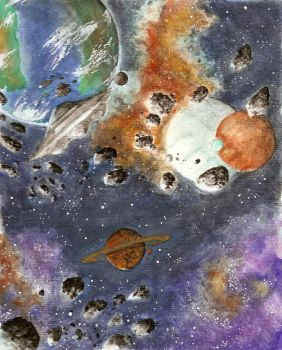 Planets final by Satanoy