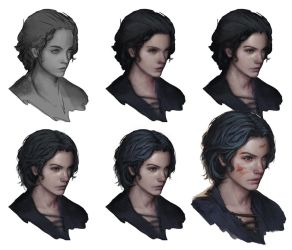 Portrait Tutorial by P-COMIC