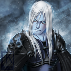 WoW Baddies Buttons - Arthas by FKDemetri