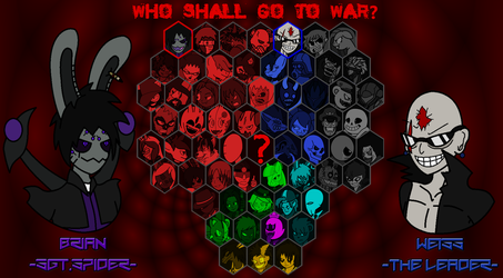 CRIMSON FIGHTERS -Roster Select- [FINAL] by TheSpiderManager