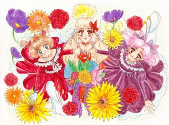 Tres Lolitas by silver-eyes-blue