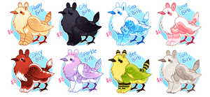 Baby Gryphon Adopts! (1/8 OPEN) by JollyMutt