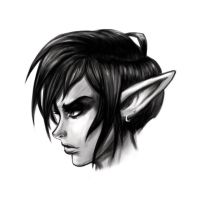 Elf Sketch by GreenYeti