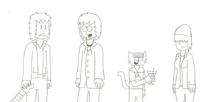 Old Sketch: Cast of Dan, Older by The-Happy-Spaceman