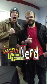 The Angry Video Game Nerd, and Me. by mrkillzo