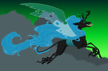 MLP - Queen Chrysalis by BambisParanoia