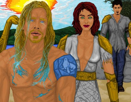 The Librarians and Ocean of Time 2 of 2 by dourdan