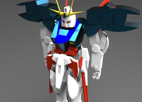 Gundam Toy Front by Raymon92