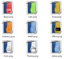 Open Office Icons by lehighost