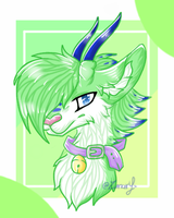 Headshort Commission (3/10) by Zunary