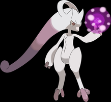 Mega Mewtwo Y by sicklequill8384