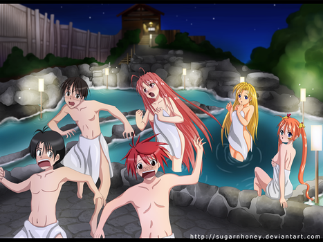 Commish: Ken Akamatsu Heroes and Heroines by x-Destinys-Force-x