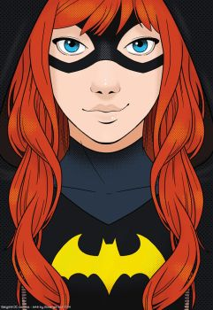Batgirl close up by SoLaNgE-scf