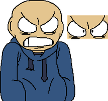 Peeved (Eddsworld base) by canditemintian