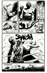 Meanwhile page 2 BW by Laharu