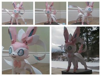 [HAPPY NEW YEAR/ PAPERCRAFT] Sylveon by TheNinToaster