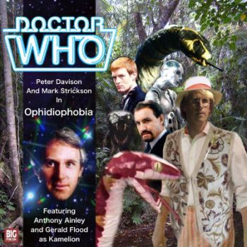Doctor Who 5th Doctor Concept Art: Ophidiophobia by Ninjobafett