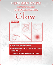 GLOW Brushes by SassyStuff