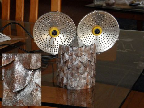 Owl lamp by XofHope