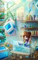Rin's Lab by RinTheYordle