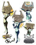 Midna Study (9 3 2018) by theskywaker
