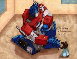 Prime and Corax Are Heart by Ha-HeePrime