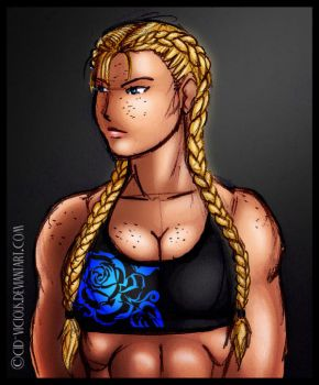 Sketch - Boxer Braids by Cid-Vicious