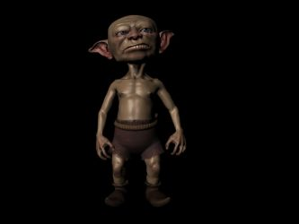 Goblin Rigged by Hungrysparrow