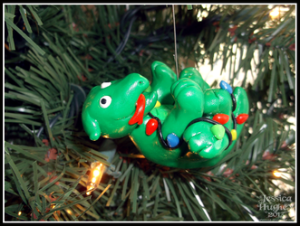 Bob the Retarded Basilisk Christmas Ornament by AnahRessa