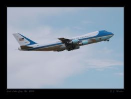 Air Force One, departing by jdmimages