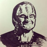 Inktober 2016 Day 31: Garak by Bondagedean