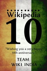 Wishes from Team Wiki India by swapnilnarendra