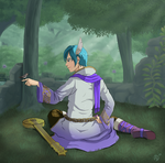 KAITO Thousand Year Solo by Les-Dessins