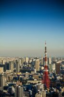 A view over Tokyo by Belatheros