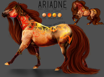 CHARACTER SHEET: ARIANDE by elegant--tragedy