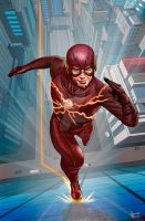The Flash by hamletroman