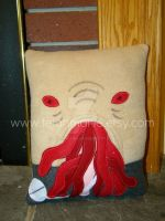 Ood Doctor Who pillow by Telahmarie