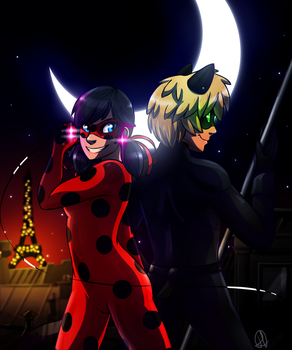 Miraculous Ladybug by ColacatintheHat