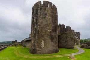 Caerphilly Castle - Northwest Tower by CyclicalCore