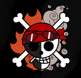 Red Clutch Pirates Jolly Roger by NyandrewB