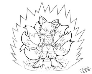 Commission: Super Tailshan by SuperAbachiBro