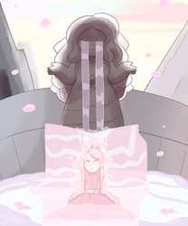 Flowing Rosewater (Artfight Minigame) by Shake666Productions