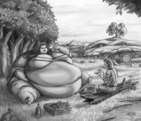 Living in a Hobbit Paradise: pt 21 by Ray-Norr