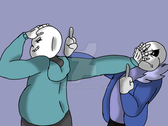 JH and ET Sans by MadiMJ
