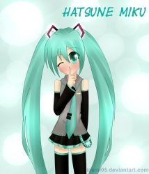 Miku - shh by Isami05