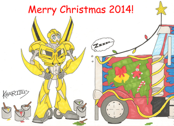 Merry Christmas 2014! by Kharotus
